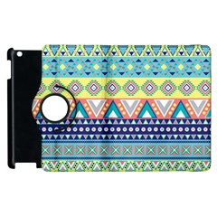 Tribal Print Apple iPad 3/4 Flip 360 Case