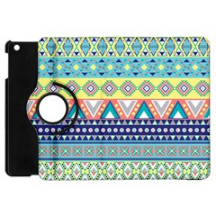 Tribal Print Apple iPad Mini Flip 360 Case