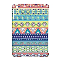 Tribal Print Apple Ipad Mini Hardshell Case (compatible With Smart Cover)