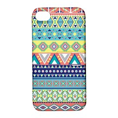 Tribal Print Apple Iphone 4/4s Hardshell Case With Stand