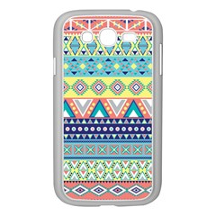 Tribal Print Samsung Galaxy Grand Duos I9082 Case (white)