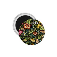 Bohemia Floral Pattern 1.75  Magnets