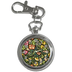 Bohemia Floral Pattern Key Chain Watches