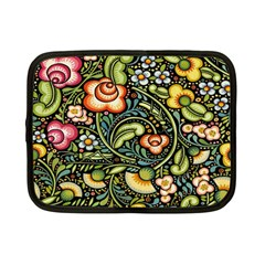 Bohemia Floral Pattern Netbook Case (small)