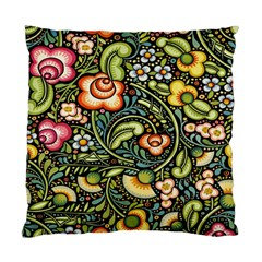 Bohemia Floral Pattern Standard Cushion Case (two Sides)