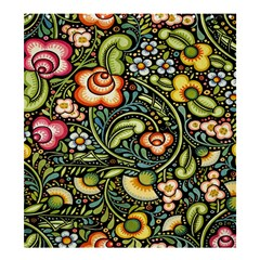 Bohemia Floral Pattern Shower Curtain 66  x 72  (Large)
