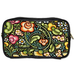 Bohemia Floral Pattern Toiletries Bags 2 Side