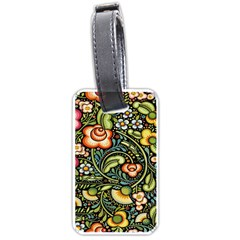 Bohemia Floral Pattern Luggage Tags (One Side)
