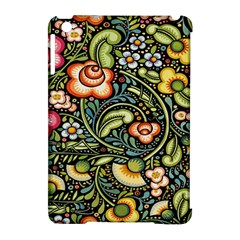 Bohemia Floral Pattern Apple Ipad Mini Hardshell Case (compatible With Smart Cover)