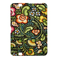 Bohemia Floral Pattern Kindle Fire HD 8.9