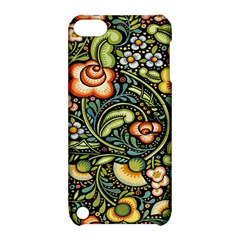 Bohemia Floral Pattern Apple Ipod Touch 5 Hardshell Case With Stand