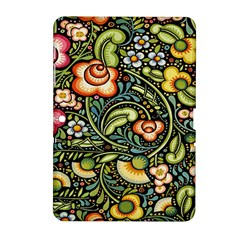 Bohemia Floral Pattern Samsung Galaxy Tab 2 (10 1 ) P5100 Hardshell Case