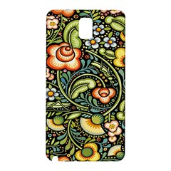 Bohemia Floral Pattern Samsung Galaxy Note 3 N9005 Hardshell Back Case