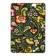 Bohemia Floral Pattern Kindle Fire HDX 8.9  Hardshell Case