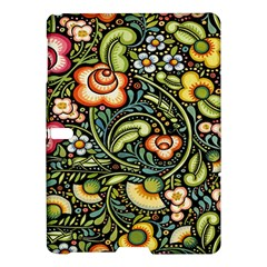 Bohemia Floral Pattern Samsung Galaxy Tab S (10 5 ) Hardshell Case