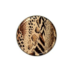 Animal Fabric Patterns Hat Clip Ball Marker (4 pack)