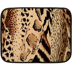 Animal Fabric Patterns Fleece Blanket (Mini)
