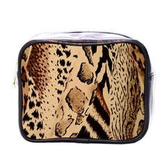 Animal Fabric Patterns Mini Toiletries Bags