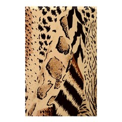 Animal Fabric Patterns Shower Curtain 48  x 72  (Small)