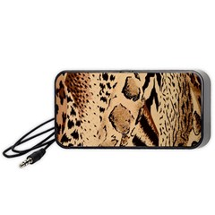 Animal Fabric Patterns Portable Speaker (Black)