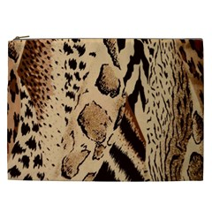 Animal Fabric Patterns Cosmetic Bag (xxl)