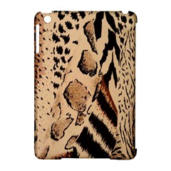 Animal Fabric Patterns Apple iPad Mini Hardshell Case (Compatible with Smart Cover)