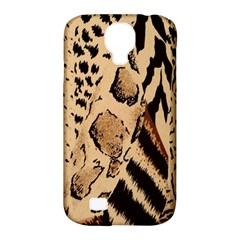 Animal Fabric Patterns Samsung Galaxy S4 Classic Hardshell Case (PC+Silicone)