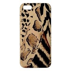Animal Fabric Patterns Iphone 5s/ Se Premium Hardshell Case