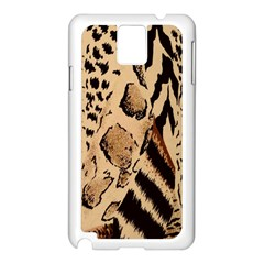 Animal Fabric Patterns Samsung Galaxy Note 3 N9005 Case (White)