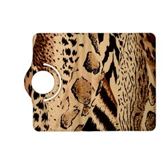 Animal Fabric Patterns Kindle Fire Hd (2013) Flip 360 Case