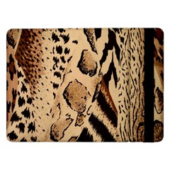 Animal Fabric Patterns Samsung Galaxy Tab Pro 12 2  Flip Case