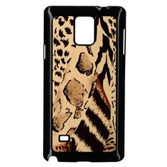 Animal Fabric Patterns Samsung Galaxy Note 4 Case (black)