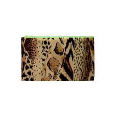 Animal Fabric Patterns Cosmetic Bag (xs)