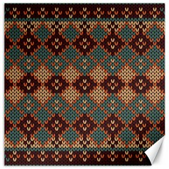 Knitted Pattern Canvas 20  X 20