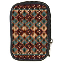 Knitted Pattern Compact Camera Cases