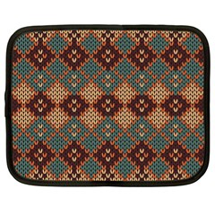 Knitted Pattern Netbook Case (xl)