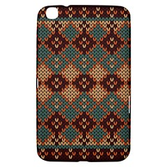 Knitted Pattern Samsung Galaxy Tab 3 (8 ) T3100 Hardshell Case