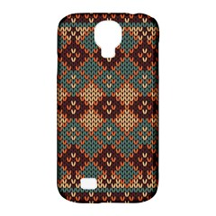 Knitted Pattern Samsung Galaxy S4 Classic Hardshell Case (PC+Silicone)