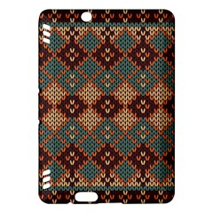 Knitted Pattern Kindle Fire HDX Hardshell Case