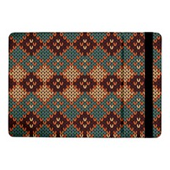 Knitted Pattern Samsung Galaxy Tab Pro 10 1  Flip Case