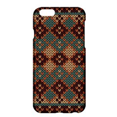 Knitted Pattern Apple Iphone 6 Plus/6s Plus Hardshell Case