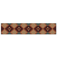 Knitted Pattern Flano Scarf (small)