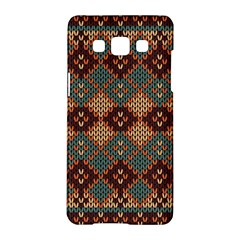 Knitted Pattern Samsung Galaxy A5 Hardshell Case