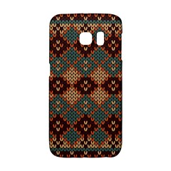 Knitted Pattern Galaxy S6 Edge