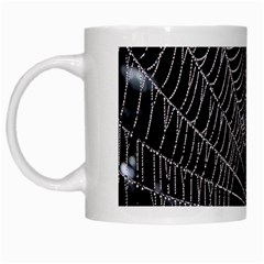 Spider Web Wallpaper 14 White Mugs