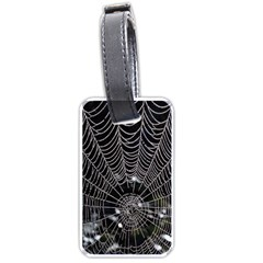 Spider Web Wallpaper 14 Luggage Tags (Two Sides)
