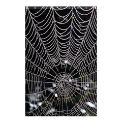Spider Web Wallpaper 14 Shower Curtain 48  X 72  (small)