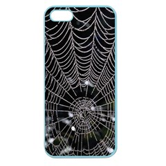 Spider Web Wallpaper 14 Apple Seamless Iphone 5 Case (color)