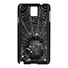 Spider Web Wallpaper 14 Samsung Galaxy Note 3 N9005 Case (black)