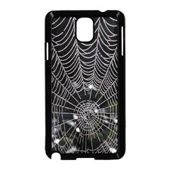 Spider Web Wallpaper 14 Samsung Galaxy Note 3 Neo Hardshell Case (black)